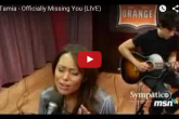 TAMIA Officially Missing You Live on MSN