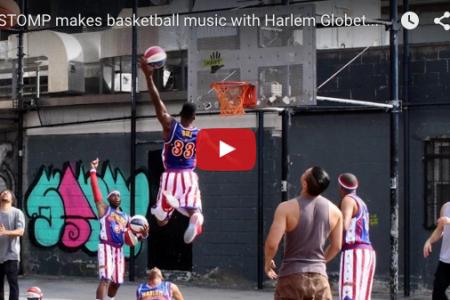 STOMPでバスケの音楽!? 音楽とスポーツの融合!